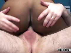 Black Milf Kelly Stylz Is Doing Some Interracial Fucking