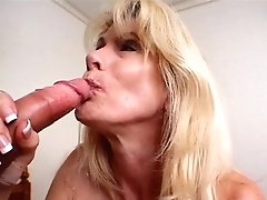 Youthfull Stud And Mature Blondie