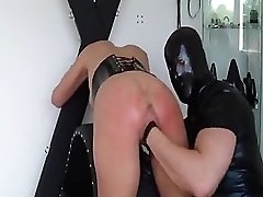 Big-titted Light-haired Victim Savagely Fisted And Squirts