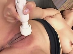 Asian Mega-bitch Hiromi Plaything Masturbating As The Dud