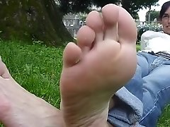 Mature Soles In Your Face
