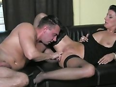 Czech Cocky Stud Gets Put In His Place