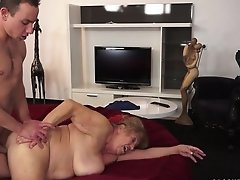 Fat Granny Margitta Gets Fucked By A Young Stud