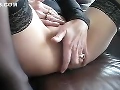 Crazy Homemade Clip With Stockings, Mature Scenes
