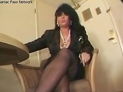 Mature Brown-haired Fucks To Orgasm