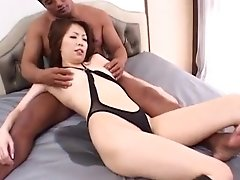Tomoe Luvs Electro-hitachi On Slit Before Frigging