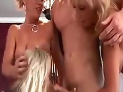 Horny Cougar Sex Bombs Fucking Teen Hard Pecker In Turns