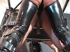 Amazing Homemade Latex, Bdsm Sex Scene