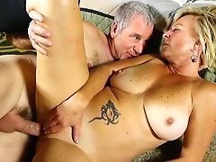 Saucy Old Spunker Is A Super Hot Fuck And Loves Gooey Facials