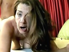 Super Sexy Mature Honey Loves A Gooey Facial Cumshot Money-shot