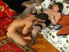 Russian Syepmother And Stepson