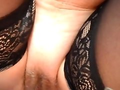 Fucking Wifes Hairy Pussy Fingering And Spreading For All
