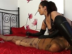 Spectacular Ruined Orgasm: Mistress Ezada Ruining The Massive Orgasm Of The
