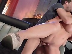 Shay Inhales Spunk-pump In Front Of Stepdaughter