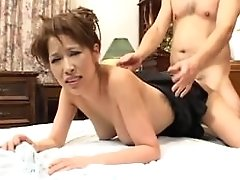Beautiful Oriental Woman Leaned Over And Fucked Hard Rear End Style