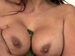 Milf Seductress Nikki Hunter Shows Her Private Parts Before She Plays With Herself