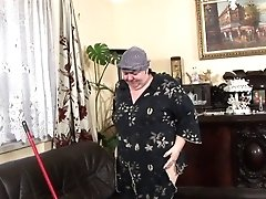 Horny Mummy Gets Off With A Broom Treat Before Fucky-fucky