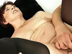 Mature With Big Hooters Knows No Limits When It Comes To Eating Her Fuck Buddys Dick