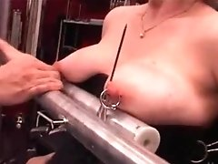 My Sexy Piercings - Strenuous Pierced Victim Tormented With Candle