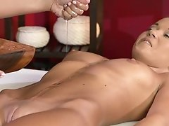 Rubdown Rooms Sexy Lesbos Jizm Intensely