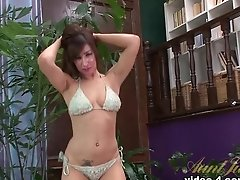 Crazy Pornstar In Incredible Masturbation, Medium Tits Adult Clip
