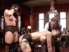 John Strong & Rilynn Rae & Syren De Mer In A Milf And Cookies Brunch - Theupperfloor