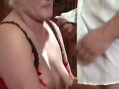 Blonde Harlot With Giant Hooters Is On The Way To The Height Of Pleasure With Her Mans Fuck Stick In Her Mouth