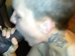 Sucking Daddy's Cock