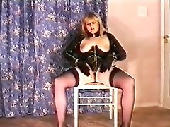 Fabulous Homemade Movie With Stockings, Masturbation Scenes