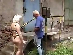 Incredible Amateur Movie With Blonde, Outdoor Scenes