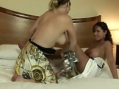 Incredible Pornstars Nikki Darlin And Christina Carter In Fabulous Mature, Lesbian XXX Clip