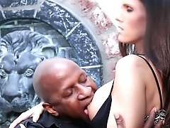 Blonde Jennifer Dark With Giant Hooters Is Another Fucktoy Of Hard Cocked Dude Prince Yashua