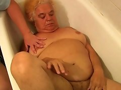 Granny And Sexy Nurse Is Luving Hot Threesome