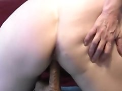 Schoolgirl Cowgirl And Reverse Cowgirl Dildo Riding