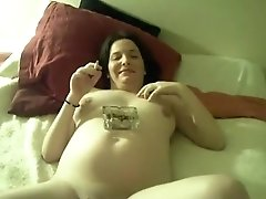 Pregnant Cousin Posing Naked