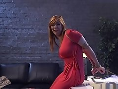 Caged Busty Busty Babe Throated By Dom