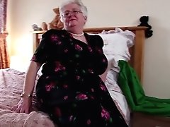Super Granny With Big Bra-stuffers And Greedy Vagina
