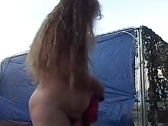 Horny Homemade Record With Solo, Outdoor Scenes