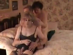 Crazy Homemade Shemale Movie With Mature, Threesome Scenes