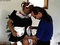 Hot Black Maid Greedy For Boner